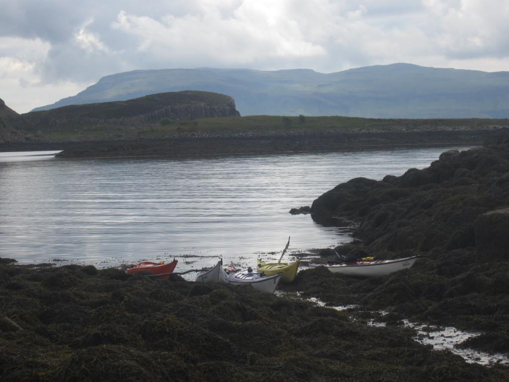 Boats at the Bothy