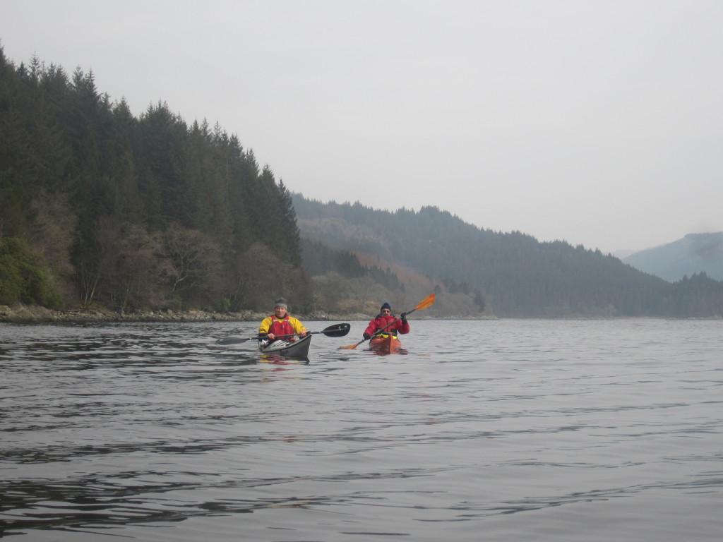 Looking north up Loch Long