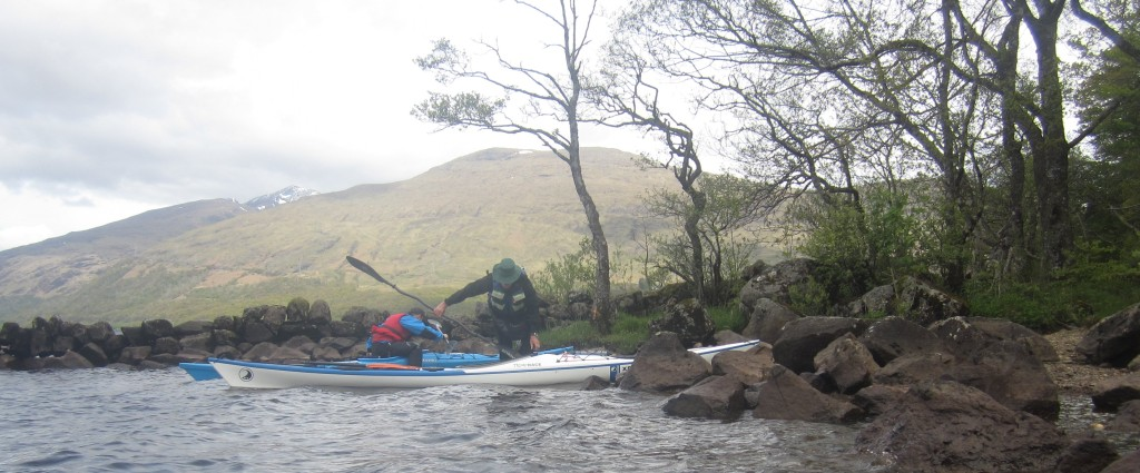 Launch point with Ben Cruachan in background
