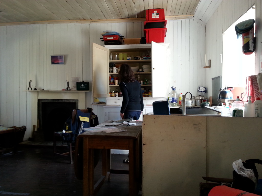 In the Bothy; Kitchen Area